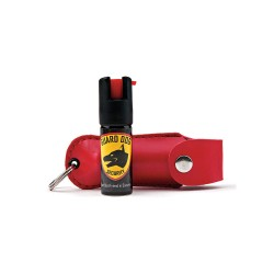 Guard Dog Security - PS-GDOC18-1RD - Pepper Spray, Key Ring, Red Hlstr, 0.5 oz.