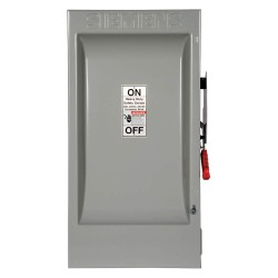 Siemens - HF324N - Safety Switch, 1 NEMA Enclosure Type, 200 Amps AC, 60 HP @ 240VAC HP