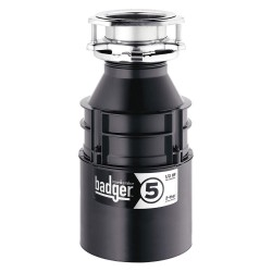 InSinkErator / Emerson - BADGER 5 WITH CORD - 1/2 HP Garbage Disposal, 120 Voltage