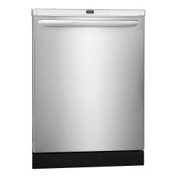 Frigidaire - FGID2466QF - Undercounter Dishwasher, Stainless Steel, Width 24, Depth 25, Voltage 120, ADA Compliant No