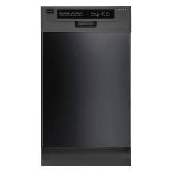 Frigidaire - FFBD1821MB - Undercounter Dishwasher, Black, Width 17-1/2, Depth 23, Voltage 120, ADA Compliant Yes