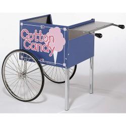Cretors - CCKS-X - Cotton Candy Cart, Blue, Stainless Steel