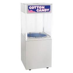 Cretors - CCBA-CZ2 - 75 lb. Stationary Cotton Candy Cabinet