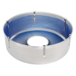 Cretors - 9809-ASSY - Cotton Candy Bowl, Aluminum, Width 26, Height 9, Depth 26