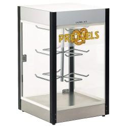 Cretors - E1100 - Heated Display Case: Pretzels, 24 H x 14-1/4 D, Holds (36) Pretzels or Equivalent