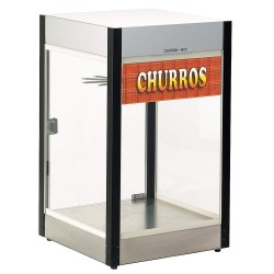 Cretors - E1101 - Heated Display Case: Popcorn, Churros, 24 H x 14-1/4 D, Holds (50) Churros or Equivalent
