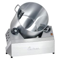 Cretors - CMTRA-X - 26 x 25 x 30 4.5 gal. Steel Frame, Aluminum Bowl Popcorn Coater, Silver