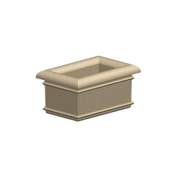 Petersen Mfg - A24X36X18 - Security Planter, 18 In. H