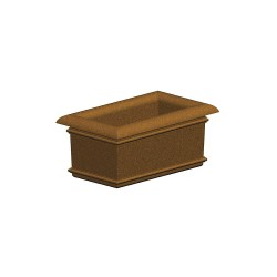 Petersen Mfg - A40X24X18 - Security Planter, 18 In. H