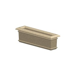 Petersen Mfg - A60X16X18 - Security Planter, 18 In. H
