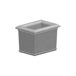 Petersen Mfg - A48X36X36 - Security Planter, Concrete, 36 in. H