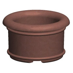 Petersen Mfg - A5 - Security Planter, Concrete, 36 in. H