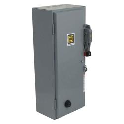 Square D - 8538SBG13V02ES - NEMA Fusible Combination Starter, 600VAC Max. Motor Voltage, 18 Amps AC, 110/120VAC Coil Volts