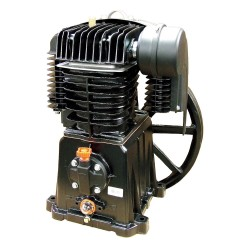 Rolair - PMP22BK119GR - 2-Stage Splash Lubricated Air Compressor Pump with 45 oz. Oil Capacity