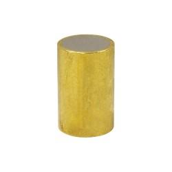 World of Welding - ABS2550 - Brass Shielded Magnet, 1/2 in.