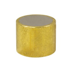 World of Welding - ABS3125 - Brass Shielded Magnet, 1/4 in.