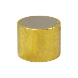 World of Welding - ABS3150 - Brass Shielded Magnet, 1/2 in.