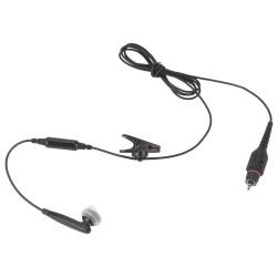 Motorola - NNTN8295A - Earbud, Black, 45 In. L