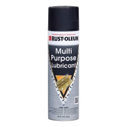 Rust-Oleum - 273759 - Rust-Oleum Multi Purpose Lubricant - Ready-To-Use Spray - 0.13 gal (16 fl oz) - 1 Each - Clear, Black