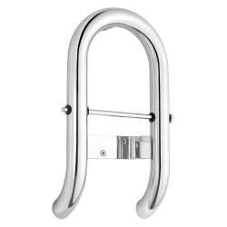 American Standard - 8714100.002 - Toilet Roll Holder Stainless Steel Grab Bar, Silver