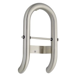 American Standard - 8714100.295 - Toilet Roll Holder Stainless Steel Grab Bar, Silver