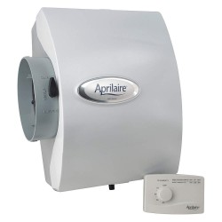 Aprilaire - 600M - Aprilaire 600M Whole-House Humidifier With Manual Control - 3 gal/Day - 4000 Sq. ft.