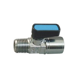 Alpha Fittings - 88310-53 - 5/32 Metal Union Y, Silver