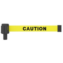 Banner Stakes - PL4027 - PLUS Barrier System Head, 15f, Caution, PK5