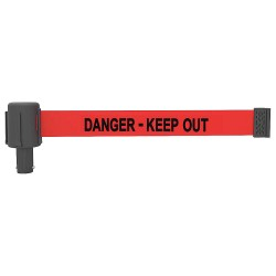 Banner Stakes - PL4049 - PLUS Barrier System Head, Keep Out, PK5