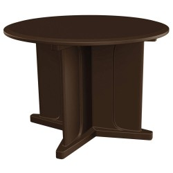 Cortech Correctional Tech - 66749BN - Utility Table, 42inWx31inHx42inL, Brown