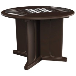 Cortech Correctional Tech - 66749BNGT - Utility Table, 42inWx31inHx42inL, Brown