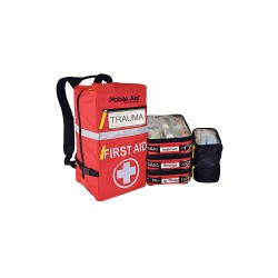 MobileAid - 31734 - First Aid Kit, Kit, Nylon Case Material, General Purpose, 50 People Served Per Kit