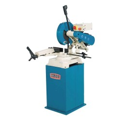 Baileigh Industrial - AS-350M - 7.5 HP Abrasive Saw, 14 Blade Dia., 1 Arbor Size, Voltage: 220
