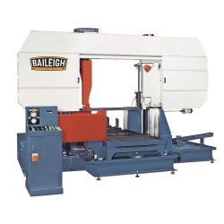 Baileigh Industrial - BS-1100SA - 15 HP Horizontal Band Saw, Voltage: 220, Max. Blade Length: 385-7/8