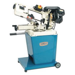 Baileigh Industrial - BS-128M - 3/4 HP Horizontal Band Saw, Voltage: 110, Max. Blade Length: 64-1/2