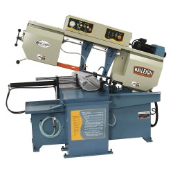 Baileigh Industrial - BS-20SA-DM - 3 HP Horizontal Band Saw, Voltage: 220, Max. Blade Length: 162-5/8