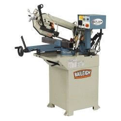 Baileigh Industrial - BS-210M - 1-1/2 HP Horizontal Band Saw, Voltage: 110, Max. Blade Length: 83