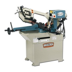 Baileigh Industrial - BS-250M - 2 HP Horizontal Band Saw, Voltage: 110, Max. Blade Length: 97