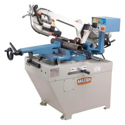 Baileigh Industrial - BS-260M - 1-1/2 HP Horizontal Band Saw, Voltage: 220, Max. Blade Length: 96-1/2