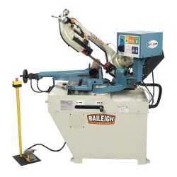 Baileigh Industrial - BS-260SA - 1-1/2 HP Horizontal Band Saw, Voltage: 220, Max. Blade Length: 96-1/2