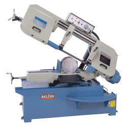 Baileigh Industrial - BS-330M - 2 HP Horizontal Band Saw, Voltage: 220, Max. Blade Length: 161-1/2