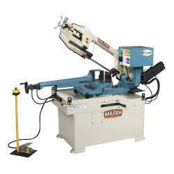 Baileigh Industrial - BS-350SA - 2 HP Horizontal Band Saw, Voltage: 220, Max. Blade Length: 124-1/2
