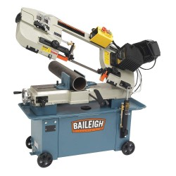 Baileigh Industrial - BS-712M - 1 HP Horizontal Band Saw, Voltage: 110/220, Max. Blade Length: 93