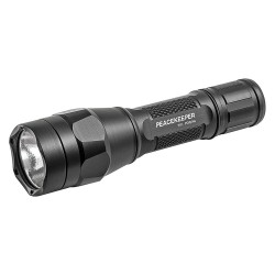 SureFire - P1R-A-BK - Tactical LED Handheld Flashlight, Aluminum, Maximum Lumens Output: 600, Black