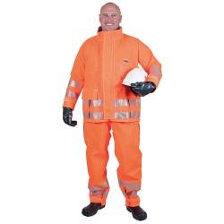 Ansell-Edmont - 66-680 - Chemical Resistant Hi-Viz Jacket, S