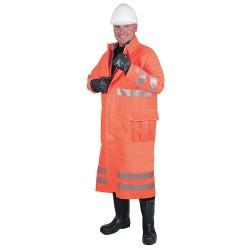 Ansell-Edmont - 66-683 - Chemical Resistant Hi-Viz Coat, S