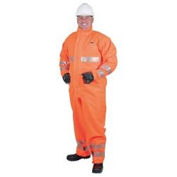 Ansell-Edmont - 66-687 - Chemical Resistant Hi-Viz Coverall, S