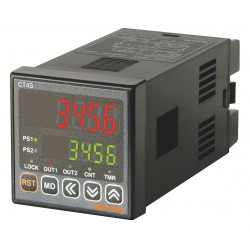 Autonics - CT4S-2P2 - Digital Counter/Timer, Number of Digits: 4, 24VAC/24 to 48VDC Input Voltage