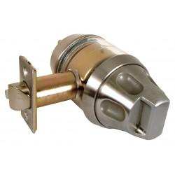 Macsim - 1SS55K/32D - Heavy Duty Entrance 1SS55-Series Antiligature Lockset, Satin Stainless Steel Finish