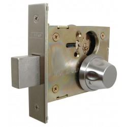 Macsim - 31SS55K/32D - Privacy SS55-Series Antiligature Mortise Lockset, Satin Stainless Finish